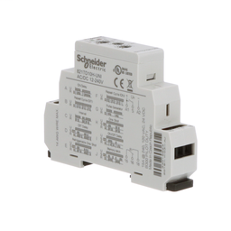 821TD10H-UNI - Time delay relay, Legacy, SPDT, 15A, 12-240 VAC/DC, 10 ms to 10 days, 8 time scales, 10 time functions, DIN mounting