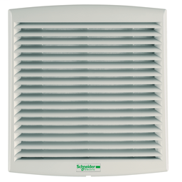 NSYCVF85M48DPF - ClimaSys forced vent. IP54, 85m3/h, 48V DC, with outlet grille and filter G2