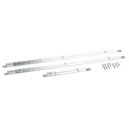 MPSF12 - MP Meter Pak, meter center, flange kit, 2 position meter centers, 125 A