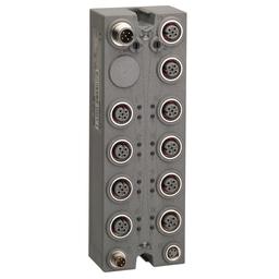 TM7NCOM16A - CANopen interface block – IP67 – 16 I/O – M12