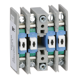 8501XB40 - NEMA Control Relay, Type X, adder deck, 10A resistive at 600 VAC, 4 normally open contacts