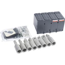 YA600L52K4 - Compression lug kit, PowerPact L, 600A, 4P, aluminum at 620A