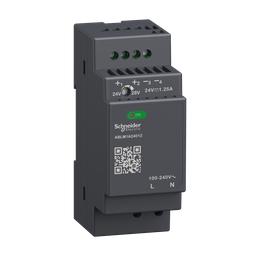ABLM1A24012 - Regulated Power Supply, 100-240V AC, 24V 1.2 A, single phase, Modular
