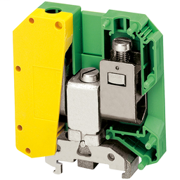 NSYTRV502PE - SCREW TERMINAL, PROTECTIVE EARTH, 2 POINTS, 50MM², GREEN-YELLOW