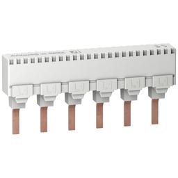 10170 - Multi 9 – comb busbar – 1L – 18 mm pitch – 6 modules – 100A