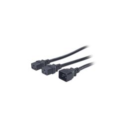 AP9898 - Power Cord Splitter, C20 to (2)C19, 1.8m