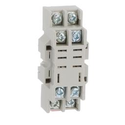 8501NR42B - Plug in relay, Type N, relay socket, 8 blade, for 8510R relays, bulk packaged