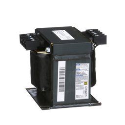 9070T750D1 - Transformer, Type T, industrial control, 750 VA, 240/480 VAC primary / 120 VAC secondary, 1 phase, 50/60 Hz, 115 °C rise