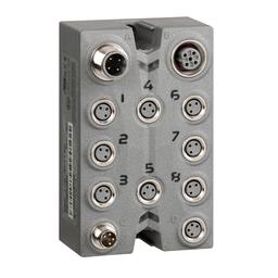 TM7BDO8TAB - Expansion block – TM7 – IP67 – 8 DO – 24V DC – 2 A – M8 connector