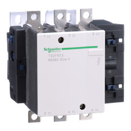 T02FN13G7 - TeSys N contactor, NEMA Size 4, 135 A, 3P, HP rated, 120 VAC 60 Hz coil