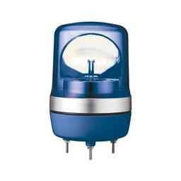 XVR10B06 - Rotating beacon, 106 mm, blue, without buzzer, 24 V AC DC