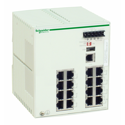 TCSESM163F23F0 - Ethernet TCP/IP managed switch – ConneXium – 16 ports for copper