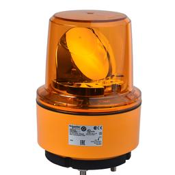 XVR13J05 - Rotating beacon, 130 mm, orange, without buzzer, 12 V DC