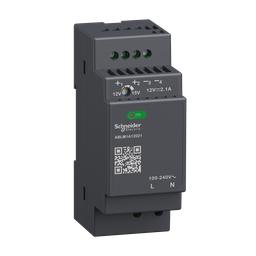 ABLM1A12021 - Regulated Power Supply, 100-240V AC, 12V 2.1 A, single phase, Modular