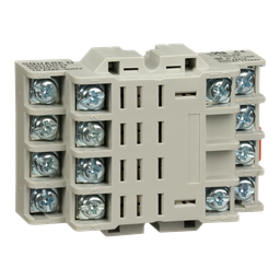 8501NR34 - Plug in relay, Type N, relay socket, 14 blade, for 8510R relays
