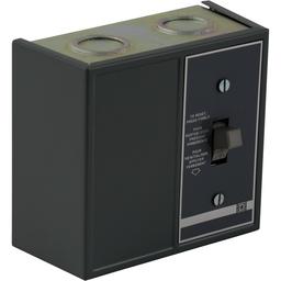 2510FG02P - Duplex Manual Starter – NEMA 1 – 1 Starter – 2P -Toggle – Red Indicator – 277VAC