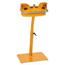 XY2SB724 - 2-hand control station + pedestal – 2 pushbuttons+1 Emergency Stop mushroom head