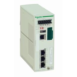 TCSESM043F1CS0 - Ethernet TCP/IP managed switch – ConneXium – 3TX/1FX – single mode