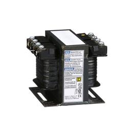 9070T50D65 - Transformer, Type T, industrial control, 50 VA, 200/220/440 VAC pri / 23/110 VAC second, 1 phase, 50/60 Hz, 55 °C rise