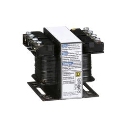 9070T50D89 - Transformer, Type T, industrial control, 50 VA,115/230 VAC primary / 24 VDC secondary, 1 phase, 50/60 Hz, 55 °C rise