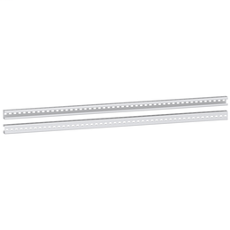 NSYTVR22 - Set of 2 heavy duty vertical rails for fixing of chassis and cross rails-2200 mm