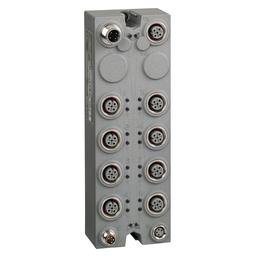 TM7BDM16A - Expansion block – TM7 – IP67 – 16 DI/DO – 24V DC – 0.5 A – M12 connector