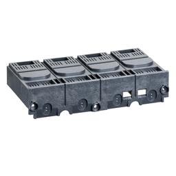 LV429516 - Short terminal shield, Compact NSX, EasyPact CVS, 4 poles, pitch 35 mm