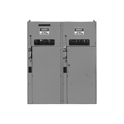 HVL515DEWR2H - Switchgear, HVL duplex switch, 600A, 15 kV, transformer disconnect, right, 125A to 200A E current limit fuse, NEMA 3R