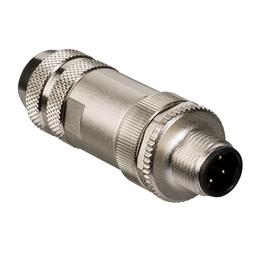 VW3L5P000 - Connector kit Ethernet Powerlink – 2 male connectors M12 4 pin + cap M12