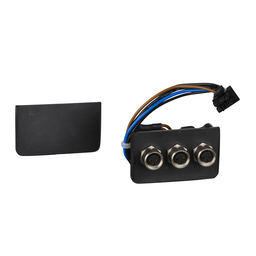 VW3L40300 - Insert – 3 female M8, 3 pins – for 3 I/O signals