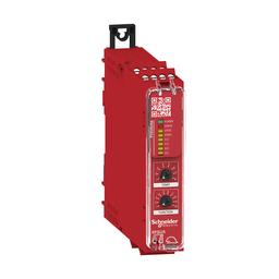 XPSUS32AP - Preventa module Cat.4 features 2*XPSUAF + enabling movement 48-240vac/dc screw
