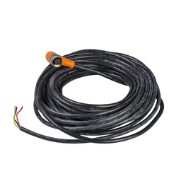 XZCPA1965L5 - Pre-wired connectors XZ – elbowed female – 1/2″20 UNF – 3 pins – cable PVC 5m