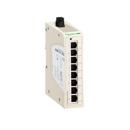 TCSESU103F2CU0 - ConneXium Unmanaged Switch 8 TX, 2 FX – Multi mode