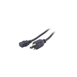 AP9896 - Power Cord, C19 to L6-30P, 2.4m
