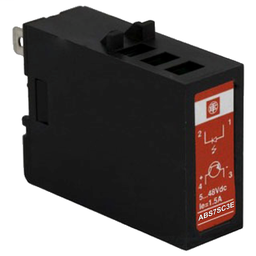 ABS7SC3E - Plug-in solid state relay – 12.5 mm – output – 5..48 V DC – 2 A
