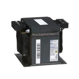 9070T750D18 - Transformer, Type T, industrial control, 750 VA, 208/277/380 VAC pri / 95/115 VAC sec, 1 phase, 50/60 Hz, 115 °C rise