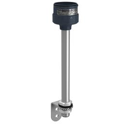 XVUZ250T - Fixing metal bracket with 250 mm aluminium pole for modular tower lights, black, Ø60