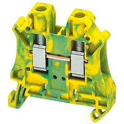 NSYTRV62PE - SCREW TERMINAL, PROTECTIVE EARTH, 2 POINTS, 6MM², GREEN-YELLOW