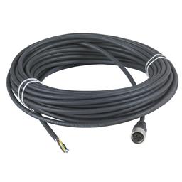 XZCP1164L15 - Con. M12 – Female – Straight – 5 pins – 15m pre-wired