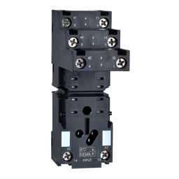 RXZE2S108M - Socket, separate contact, 12 A, relay type RXM2, screw connector, 250 V AC