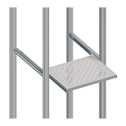 NSYTTG50 - Telescopic rails for mounting of a telescopic tray – 500 mm enclosure