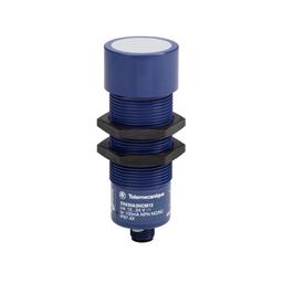 XX230A10PA00M12 - Ultrasonic sensor cylindrical M30 – 2 emptying levels – Sn 1 m – 2NO – M12