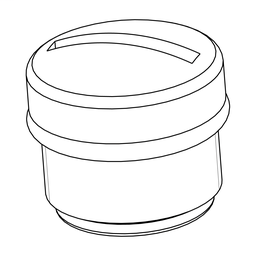 ASI67FACC1 - Sealing plug for M12 connector – compatible with AS-Interface cabling system