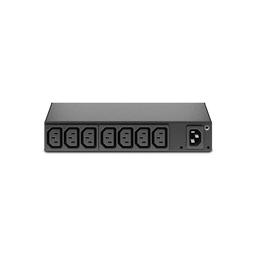 AP6015A - RACK PDU, BASIC, 0U/1U, 120-240V/15A, 220-240V/10A, (8) C13