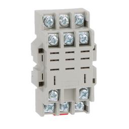 8501NR43B - Plug in relay, Type N, relay socket, 11 blade, for 8510R relays, bulk packaged