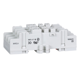 8501NR82 - Plug in relay, Type N, relay socket, 11 blade, double tier, for 8510KU relays