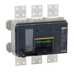 RLF36300U31A - POWERPACT R-FRAME, MOLDED CASE CIRCUIT BREAKER, 600V, 3000A, 3P, 50kA