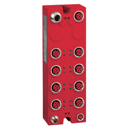 TM7SDM12DTFS - Safety expansion block – TM7 – IP67 – 8 DI/4 DO – 24V DC – 2 A – M12 connector