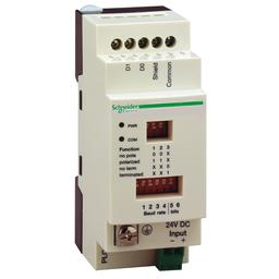 TWDXCAISO - Serial link tap isolation box – for PLC Twido – screw terminal block – 2 RJ45