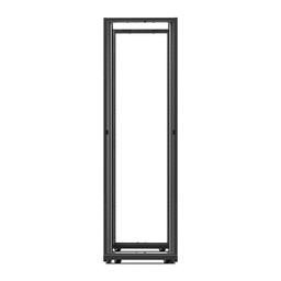 AR3812 - NetShelter AV 42U 600mm Wide x 825mm Deep Enclosure 10-32 Threaded Rails No Sides/Roof/Doors Black